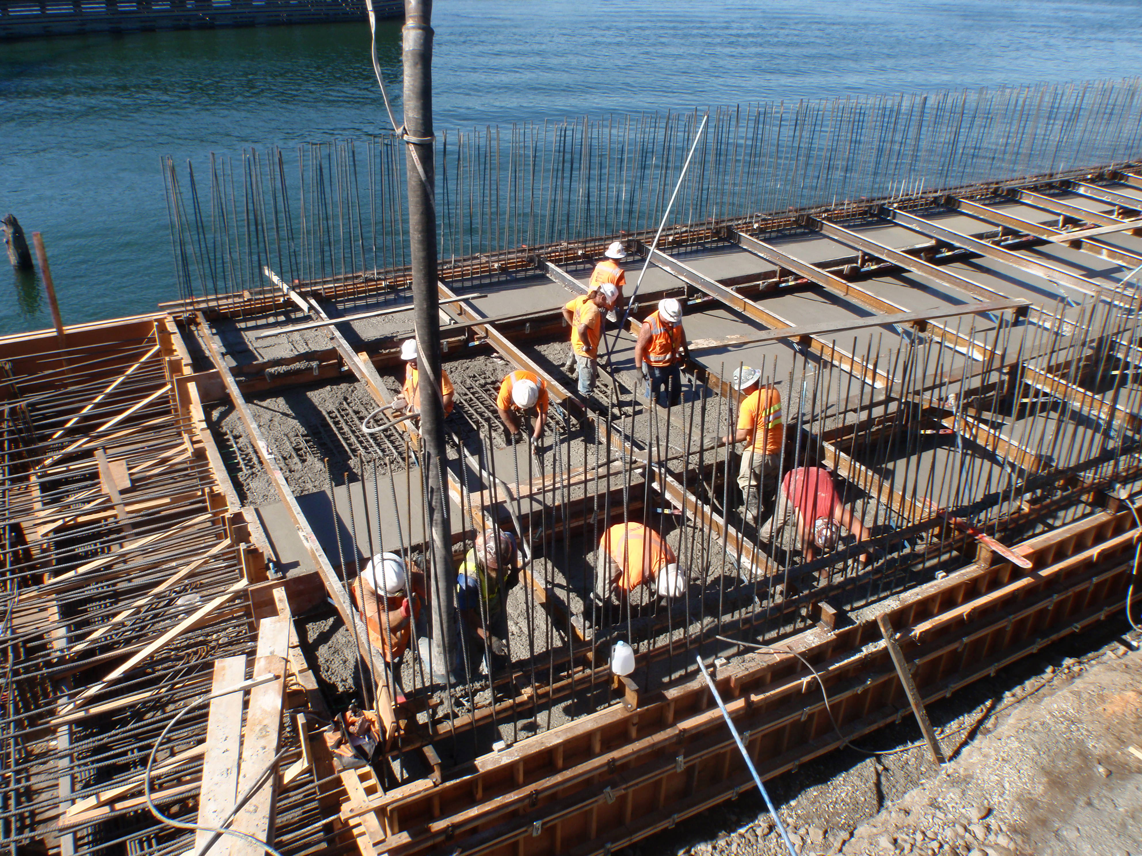 Crews Compete with Fall Rains to Complete Trench Project ...