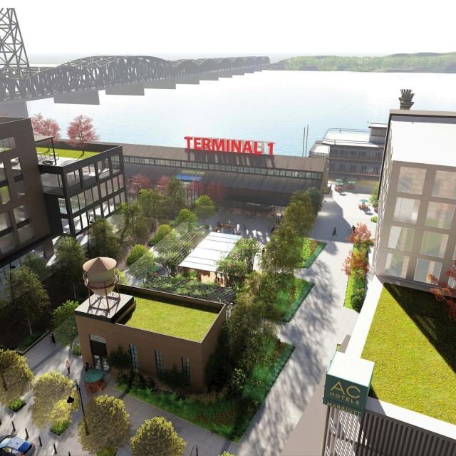 Terminal 1 hotel advances toward construction