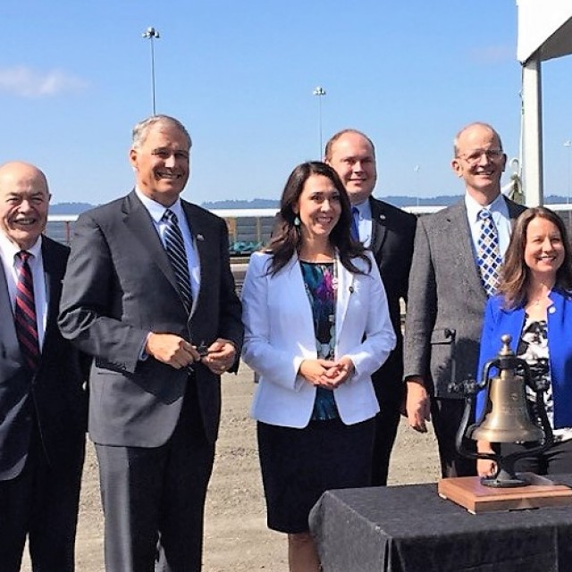 Port of Vancouver USA, partners dedicate $251 million West Vancouver Freight Access project